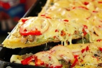 Пицца, которая сводит с ума.