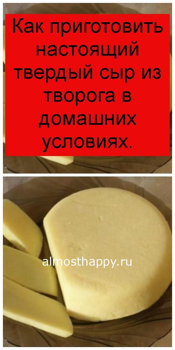 Как приготовить настоящий твердый сыр из творога в домашних условиях 4