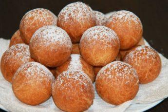 Рецепт обалденных творожных пончиков. Вкус из детства 1