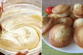 Стакан манки, стакан кефира, 1 яйцо и вкуснейшие кексы готовы 1