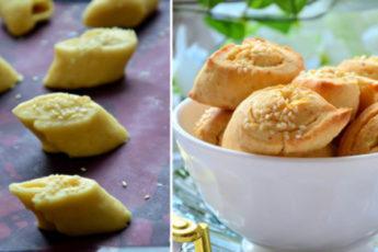 Всего из 2-х плавленых сырков вы приготовите целую миску печенья 1
