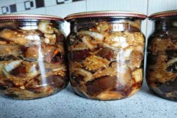 Как вкусно законсервировать баклажаны на зиму: прекрасный рецепт 1