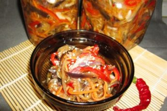 Как заготовить баклажаны по-корейски на зиму: аппетитный рецепт 1
