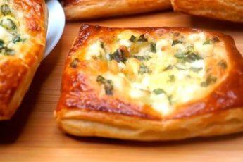 Ленивые пирожки с зеленым луком и яйцами: проще не бывает 1