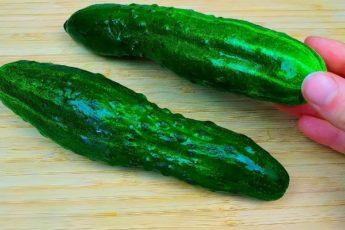 Открыла для себя новый рецепт потрясающего салата с огурцом за 10 минут 1