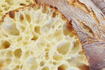 Рецепт потрясающего хлеба с дырочками «Чиабатты» 1