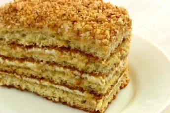 Самый быстрый и вкусный торт в духовке — готовиться 30 минут 1