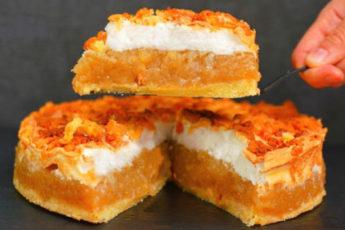 Вместо «Шарлотки» – яблочный пирог «Облака». Очень много начинки и мало теста 1
