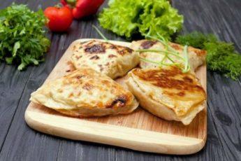 Китайские слоеные лепешки с мясом 1