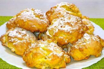 Мягкое итальянское печенье с яблоками и орехами 1