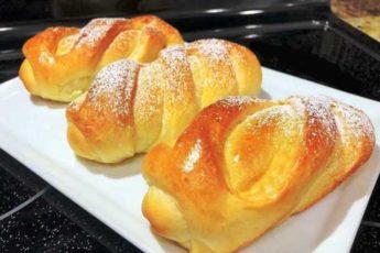 Нежные и вкусные сдобные ванильные булочки. Воздушные, как пух 1
