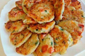 Оладьи-пиццы 1