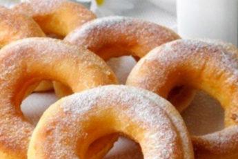 Пончики на кефирной основе за 20 минут. Хорошее чаепитие гарантированно 1