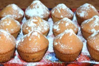 Рецепт мягких и ароматных кексов за 15 минут 1