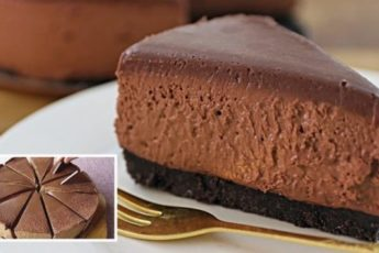 Рецепт вкусного шоколадного чизкейка без выпечки 1