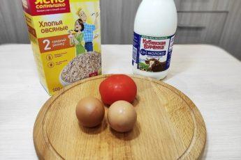 Смешал овсяные хлопья с молоком и яйцом, и пожарил на сковороде: рецепт с фото 1